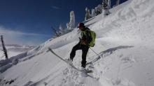 Persistent slab woes in the Northern Whitefish Range