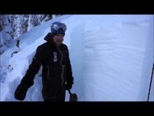 December 22, 2015 - Soft Slabs, Marion Lake, Flathead Range