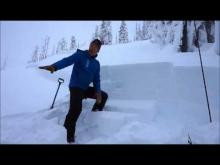 January 24, 2016 - Avalanche Fatality Site Visit, Swede Creek, Whitefish Range