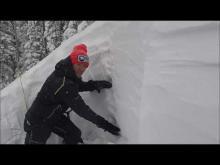 December 26, 2016 - Snowpack in the Swan Range