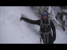 December 19, 2016 - Wind Slab Avalanches, Marion Lake/Dickey Creek, Flathead Range
