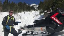 March 18, 2019.  Destructive wet loose avalanches in Northern Whitefish Range