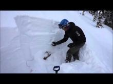 December 14, 2015 - Marion Lake, Flathead Range - General Snowpack Structure