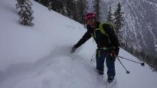 Sound the alarms! Avalanche activity escalating in the Flathead Range