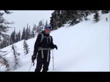 January 7, 2016 - On the hunt for surface hoar, southern Whitefish Range